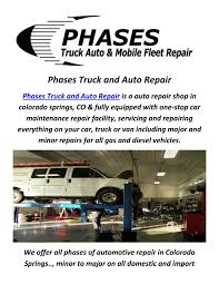 Diesel Truck Repair In Colorado Springs, CO By Phases Truck And By ... Car Truck And Rv Specialists Quality Vehicle Truck Servicing Ferguson Buick Gmc In Colorado Springs A Vehicle Source For Pueblo Ford Dealer Serving Grand Rapids Vanrhyde Brothers Used Dealership Co Cars Lakeside Auto Repair Auto Repair Colorado Springs Service Teeter Motor Co Malvern Little Rock Hot Ar Pickup Wikipedia Dragos Spring Welding Ltd Opening Hours 1429 River St 1 Brokers Ocean Ms New Trucks Sales Replacing A Single Broken Leaf Spring On The Cartruck Youtube Amazoncom Disneypixar Mack Transporter Toys Games Diesel By Phases By