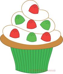 cupcakes clip art 10