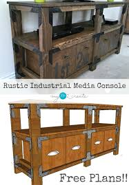 DIY Media Console And Free Plans