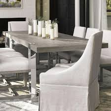 Furniture Worldwide Modern Desmond Dining Table In Flint And