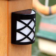 solar powered porch light lighting design ideas