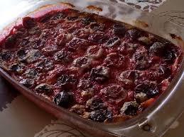 dessert aux quetsches recette le clafoutis aux prunes une recette facile