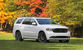 Dodge Durango Captains Chairs by 2017 Dodge Durango In Depth Model Review Car And Driver