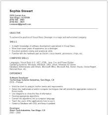 Objective For Software Engineer Resume Career Objective Examples For