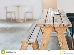 Wooden Bench And Table Indoor Stock Image - Image Of Dining ... Hill Country Rectangular Table With Four Side Chairs And One Bench Kitchen Seat Fresh Ding Country Home Farm Table And Chair Set Just Fine Tables Wooden Cost Room Leons With Style Sets Home Interior Blog 6 Pc Farmhouse For Shabby Chic Pine Louis Xvi Benches Another Farmhouse Ding Room Set Bench The History Of Gbvims Makeover
