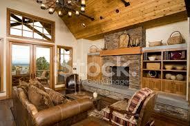 rustikal moderne wohnzimmer stockfotos freeimages