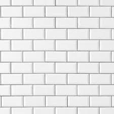 bright white beveled ceramic wall tile 3 x 6 100132455