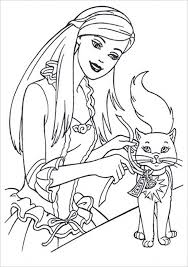 Kids Printable Barbie Coloring Pages Free Online P2s2s