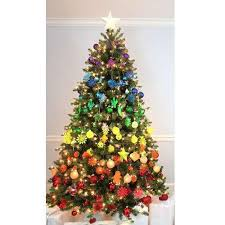 Multicolor Classy Christmas Tree Amra Decoration