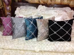 coussin de luxe pour canapé 2015 de style européen artisanat de velours de luxe coussins pour