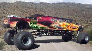 100 Monster Truck Pictures The Worlds Longest Throttles Onto The Trade Show Floor