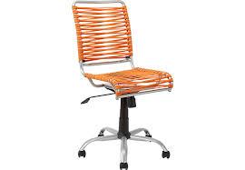 Bungee Twist Orange Desk Chair Desk Chairs Orange Colors