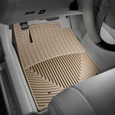 Lexus All Weather Floor Mats Es350 by Weathertech W174tn All Weather 1st Row Tan Floor Mats