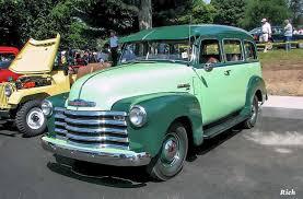 100 1952 Chevy Panel Truck 1948 Suburban CHEVY TRUCKS Trucks Pickups