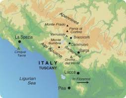 Map Of Exodus Travels Week In Tuscany Trip Itinerary