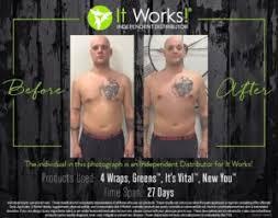 27 Days 4 It Works Body Wraps Its Vital Greens New You