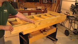 southern pine porch bed swing youtube