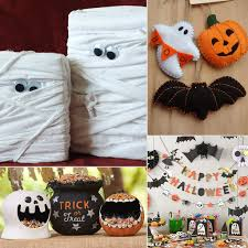 Cute Halloween Decorations Pinterest by Creative Homemade Halloween Decorations 15 Best Ideas About