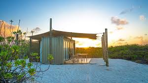 100 Sea Container Accommodation A Shipping Container In Paradise Financial Times