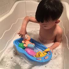 badewanne babypuppe puppenhaus badezimmer spielzeug set für