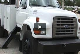 1998 Ford F800 Digger Derrick Trucks. Altec D845-TR 30,000Lb ...