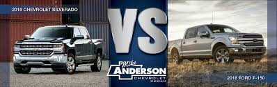 2018 Ford F-150 Vs 2018 Chevy Silverado In Ossian, IN | Mike ...