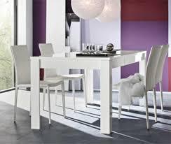 table de repas messina livorno laqua galerie et table bar blanc
