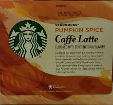 When Are Pumpkin Spice Lattes At Starbucks by Limited Edition Starbucks Pumpkin Spice Caffe Latte K Cups Amazon