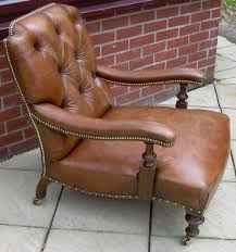 A Victorian Leather Armchair - Antiques Atlas Mid 17th Century Inlaid Oak Armchair C 1640 To 1650 England Comfy Edwardian Upholstered Antique Antiques World Product Scottish Bobbin Chair French Leather Puckhaber Decorative Soldantique Brown Leather Chesterfield Armchair George Iii Chippendale Period Fine Regency Simulated Rosewood And Brass 1930s Heals Of Ldon Atlas Armchairs English Mahogany Library Caned 233 Best Images On Pinterest Antiques Arm Fniture An Arts Crafts Recling