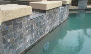 Waterline Pool Tile Designs by Proper Calcium Hardness Prolongs Waterline Calcium Buildup