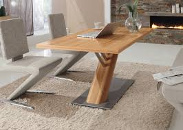 MDF Melamine Modern Dining Table Furniture Eco
