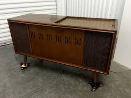 Kent Coffey Dresser The Pilot by Vtg Rca Victor Vgt 13w Stereo Console Entertainment Center Iphone