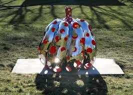 Yayoi Kusama Pumpkin Sculpture by Pumpkins U0026 Tulips Yayoi Kusama U0027s Most Outstanding Public
