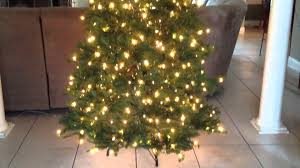 Dunhill Fir Pre Lit Christmas Tree by National Tree Company Christmas Tree Youtube