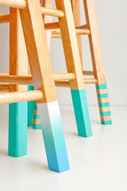 100 Stupid People And Folding Chairs Trick Out A Basic Bar Stool With This Simple DIY Brought To You