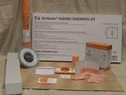 Schluter Ditra Tile Underlayment by Kerdi Shower Kit 48