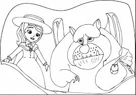 Terrific Sofia The First Coloring Pages Princess Ariel With And