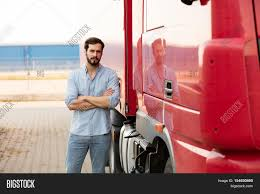 100 Looking For Truck Drivers Handsome Driver Image Photo Free Trial Bigstock