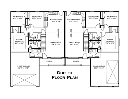 Small Duplex Floor Plans by Floor Plans For Duple Duplex Living House Planore Miscellaneous