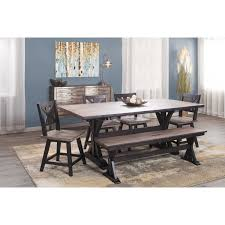 Picture Of Urban Farmhouse Dining Table