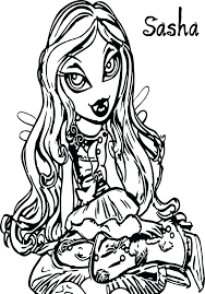 Bratz Colouring Book Games Coloring Page Pages Free Full Size