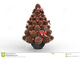 Pine Cone Christmas Tree Decorations by Christmas Decorations Pine Cones Stock Photo Image 59007396