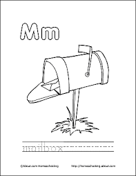 Print The Pdf Mailbox Coloring Page And Color Picture Use Your Back Button To Return This Choose Next Printable Sheet