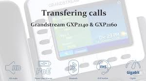 How To Transfer A Call On The Grandstream GXP2140 & GXP2160 VoIP ... Grandstream Dp720 Cordless Voip Phone Review Telzio Blog Configure The Ht486 Localphone Admin Everythingip Approx 60 Gxp1405 Voip Phones Office Clearance Stock Gxv3275 Multimedia Ip For Android And Offering 2 Lines Poe 128x40 Dect Handset Warehouse Teil 1 Telefon An Avm Fritzbox Einrichten How To Make Attended Transfer On A Gxp2130 Category Hd Viriya Computama Pittsburgh Pa It Solutions Perfection Services Inc