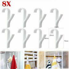 badezimmerzubehör 8x handtuchhaken rundheizkörper handtuch
