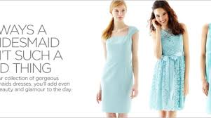 jcpenney light blue dress shop bridesmaid dresses jcpenney diy wedding 46507