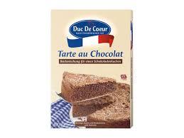 duc de coeur backmischung tarte au chocolat lidl ansehen