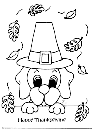 November Thanksgiving Coloring Pages