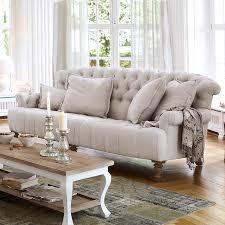sofa springfield leinen loberon modernes