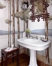 Paris Themed Bathroom Accessories by 15 Bathroom Wallpaper Ideas Wall Coverings For Bathrooms Elle